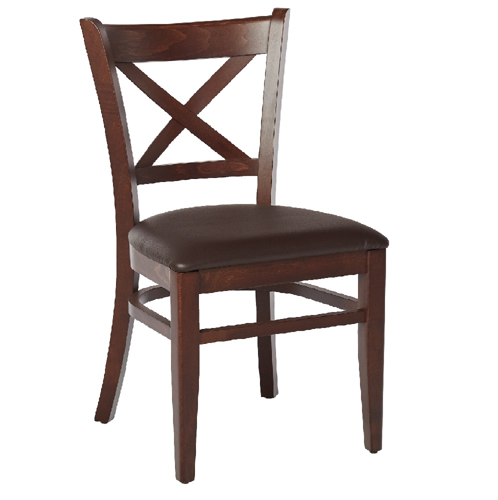 LEATHER RESTAURANT CHAIRS - MODEL 0080