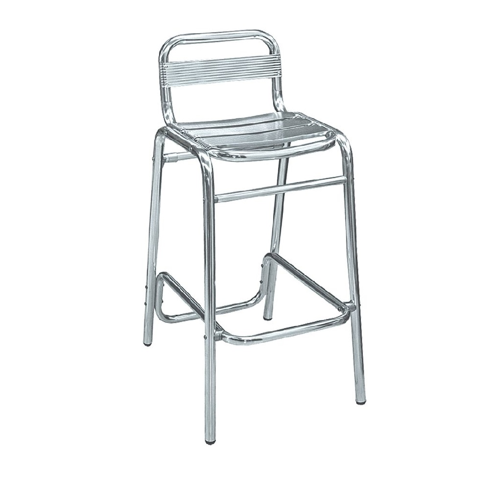 OUTDOOR FURNITURE ALUMINIUM BAR STOOL 1892