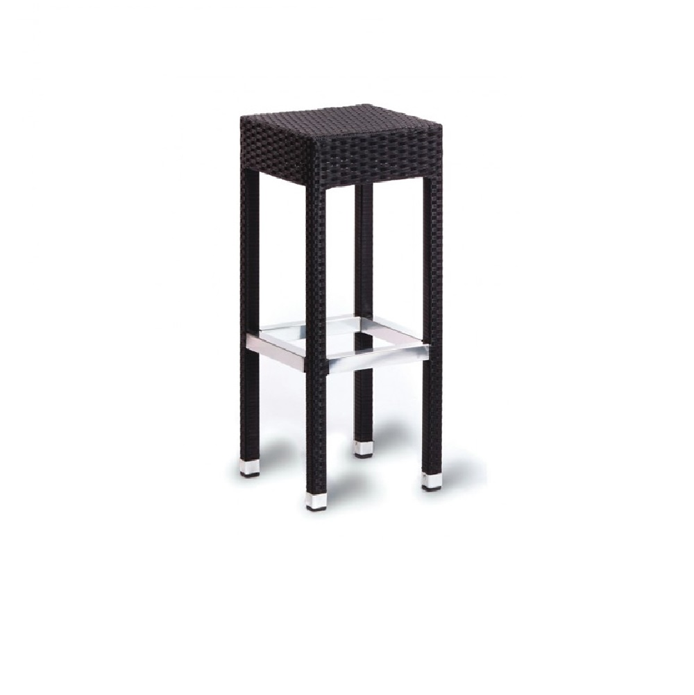 1964 OUTDOOR WEAVE BAR STOOL