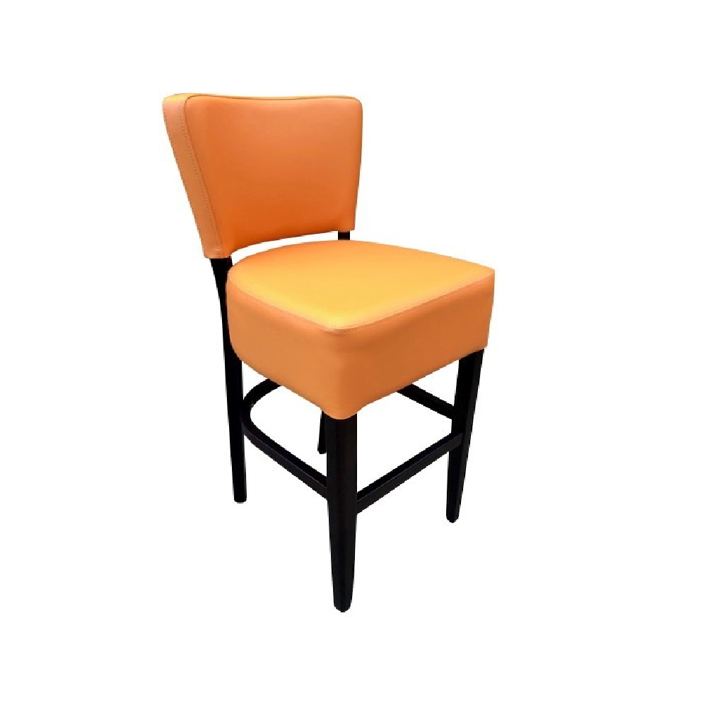 1971 HIGH STOOL JAFFA ORANGE