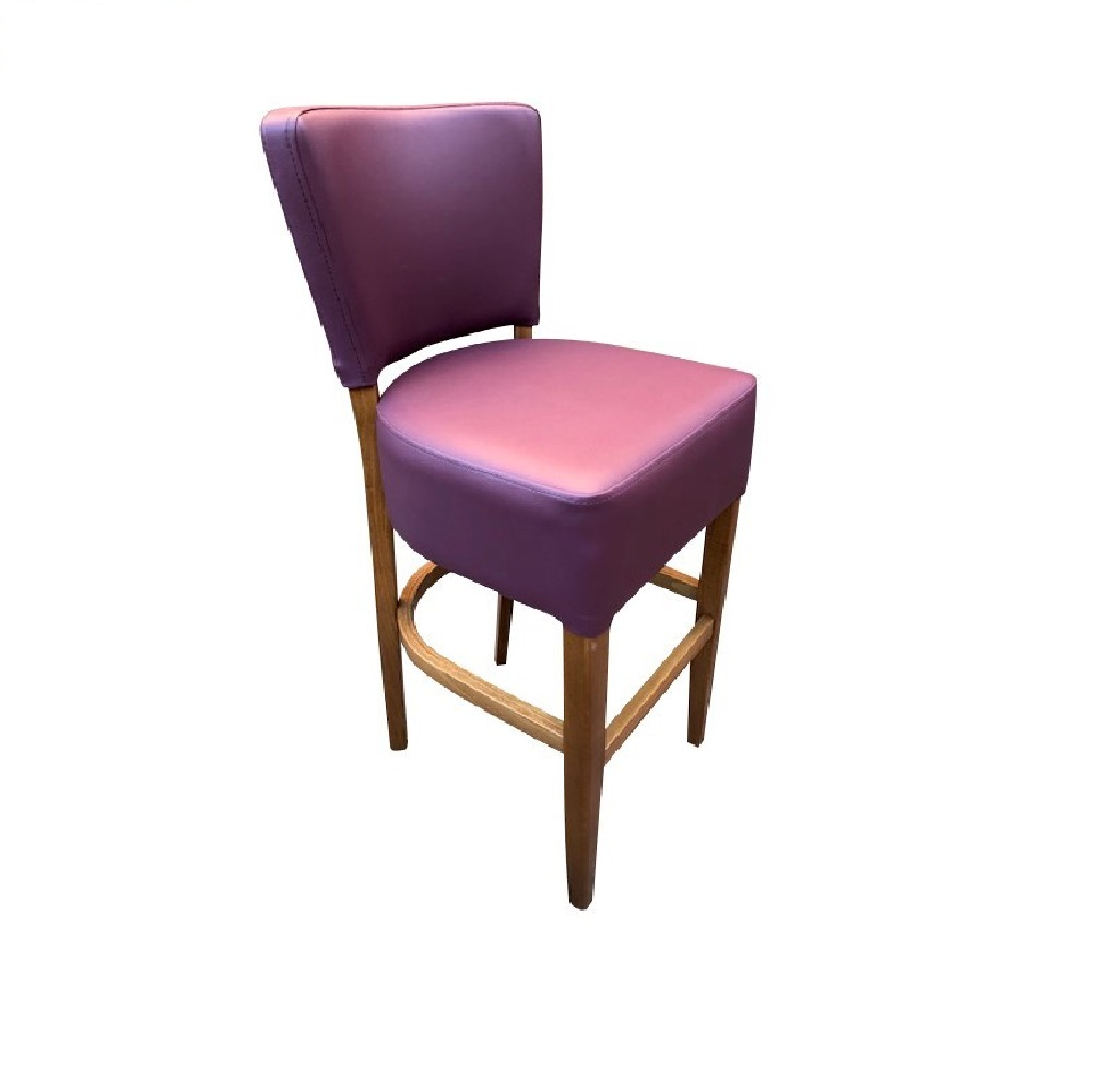 1971 HIGH STOOL PLUM