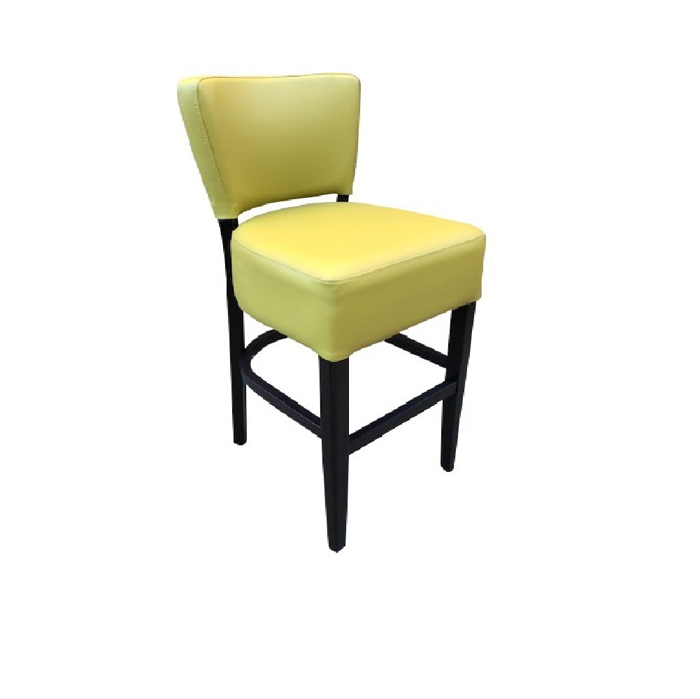 LEATHER RESTAURANT BARSTOOL REED 1971