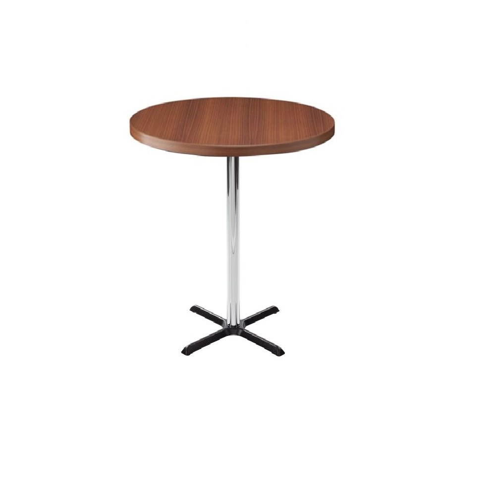 RESTAURANT TABLES & CHAIRS COMPLETE POSEUR TABLE 2 SEATER ROUND