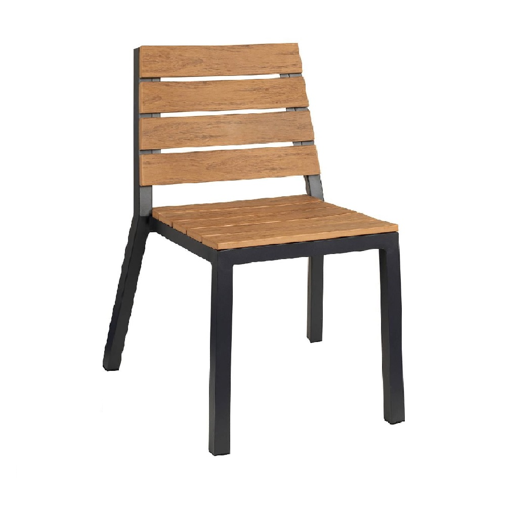 OUTDOOR FURNITURE ALUMINIUM WITH WOOD EFFECT MODEL 2134