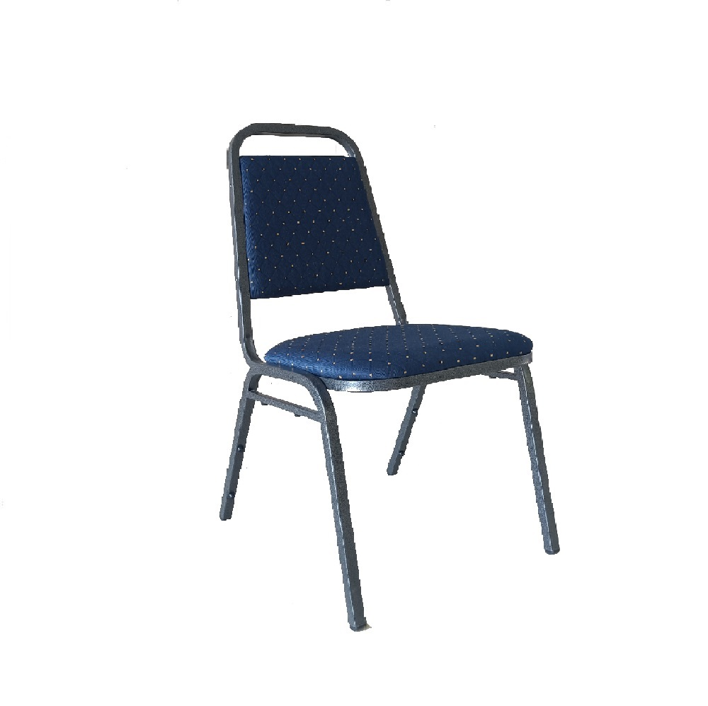 BANQUETING CHAIR STEEL FRAME 2525 BLUE