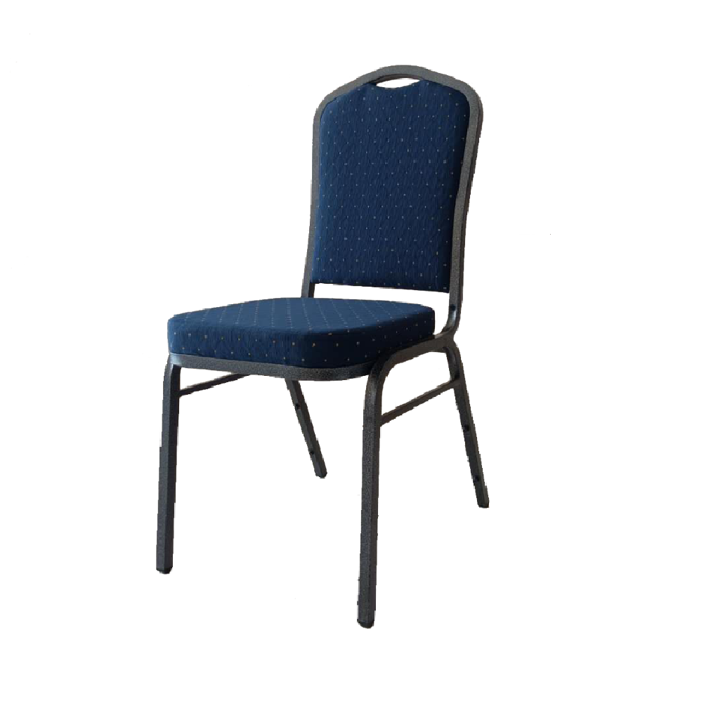 BANUQETING CHAIR STEEL FRAME 2526 BLUE