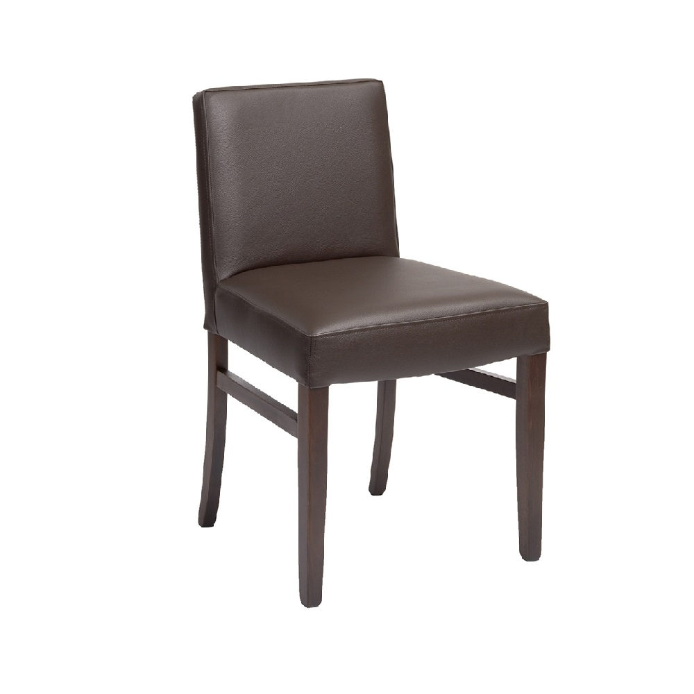 2538 RESTAURANT DINING CHAIR FAUX LEATHER