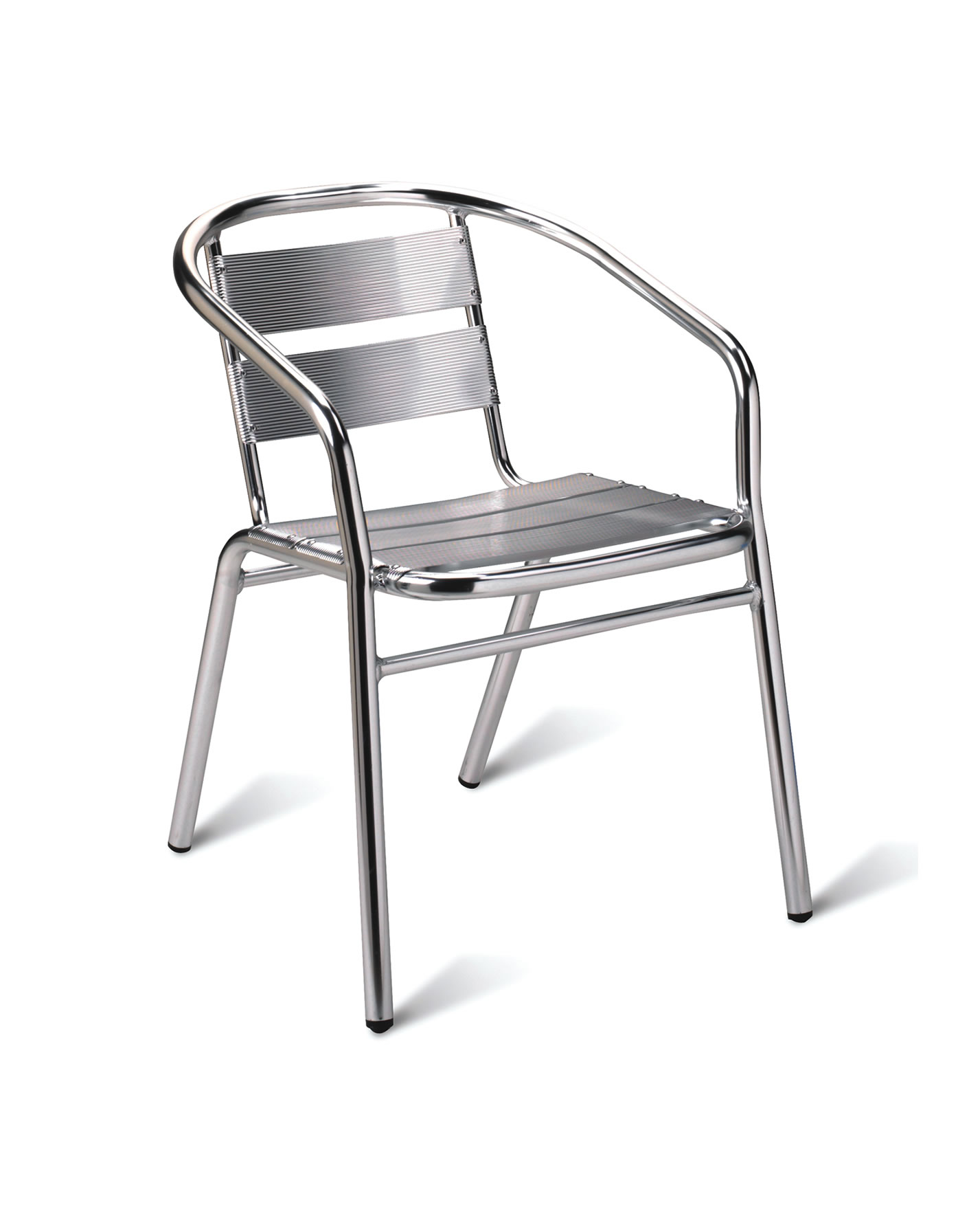 1893 ALUMINIUM ARM CHAIR