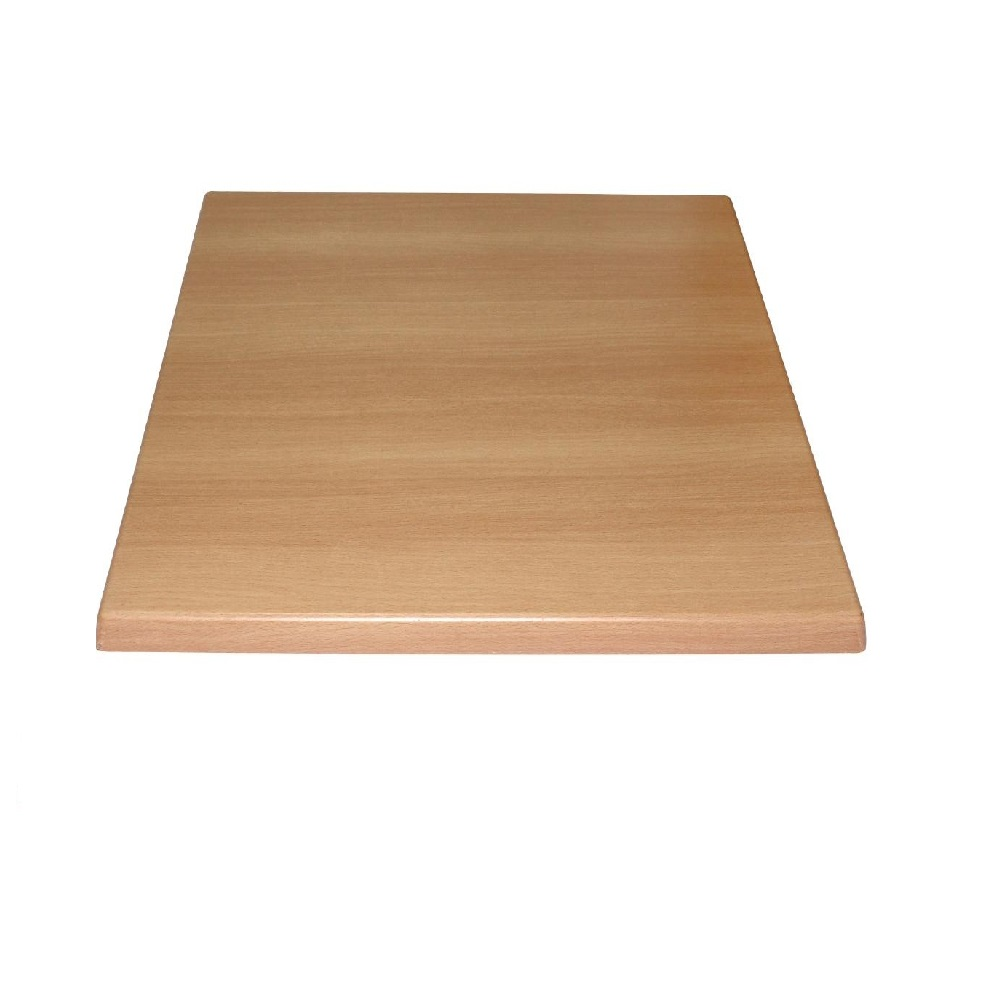 2031 BEECH TABLE TOP SQUARE 25mm