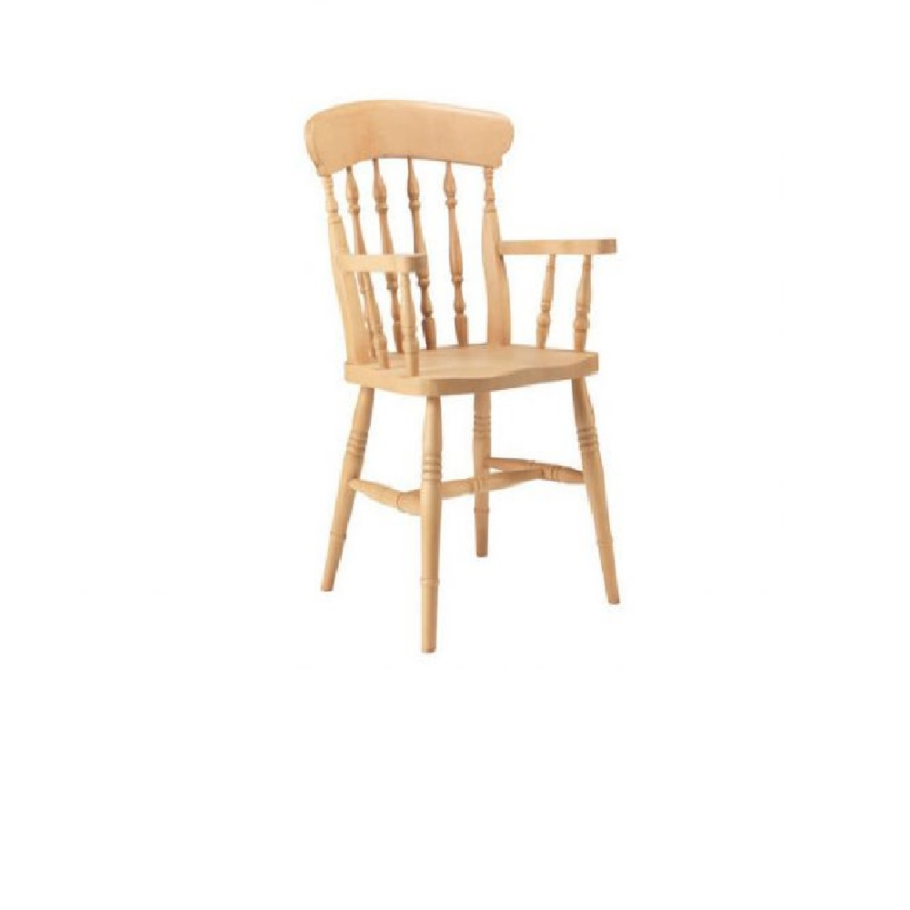 PUB CHAIRS FARMHOUSE CARVER SPINDLE CHAIR
