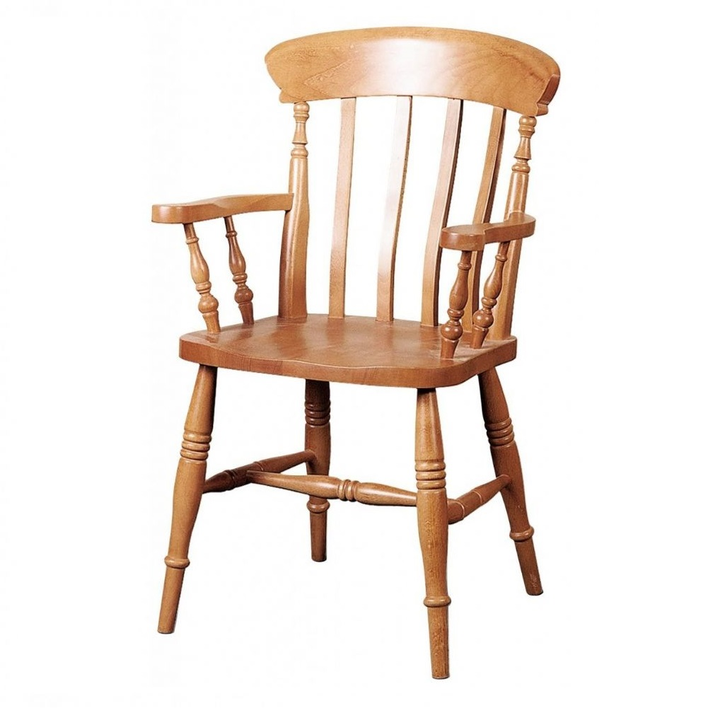 PUB CHAIRS FARMHOUSE CARVER SLAT CHAIR