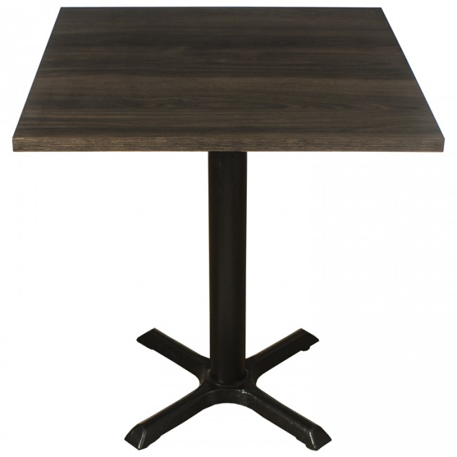 3412 DARK OAK TWO SEATER COMPLETE TABLE AND BASE