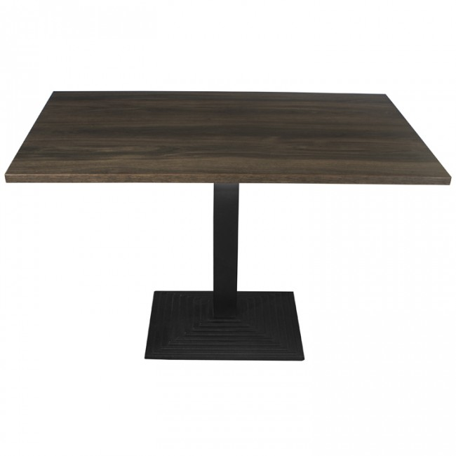 3415 - DARK OAK 4 SEATER COMPLETE TABLE AND STEP BASE