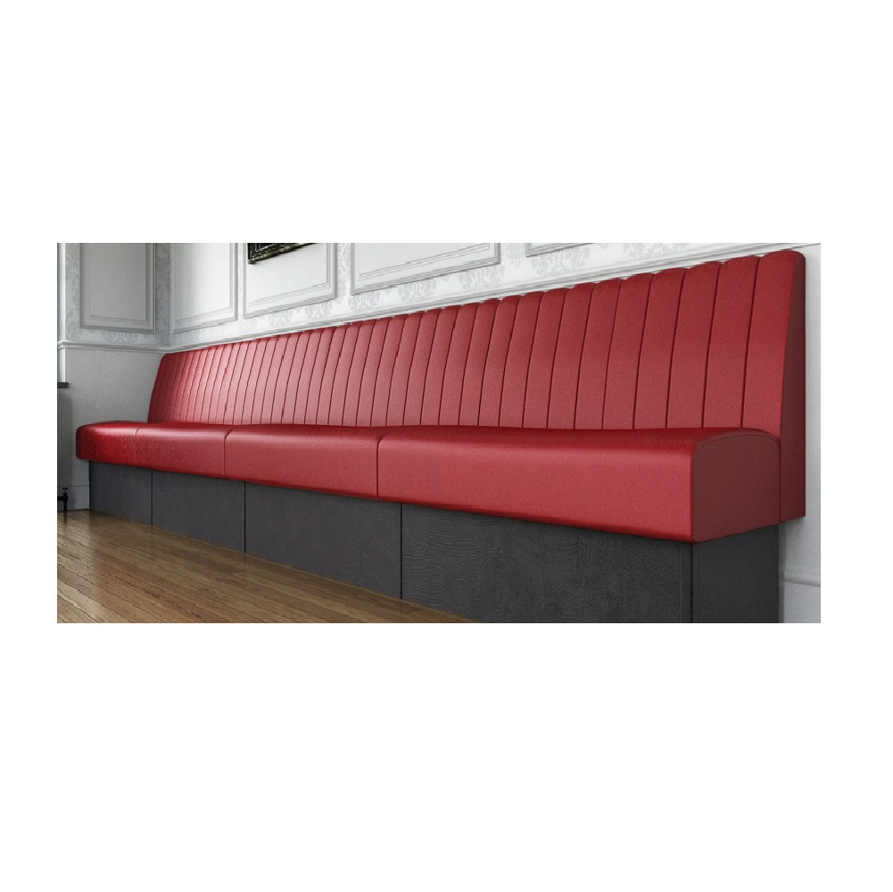 RESTAURANT BAR FIXED SEATING FLUTED