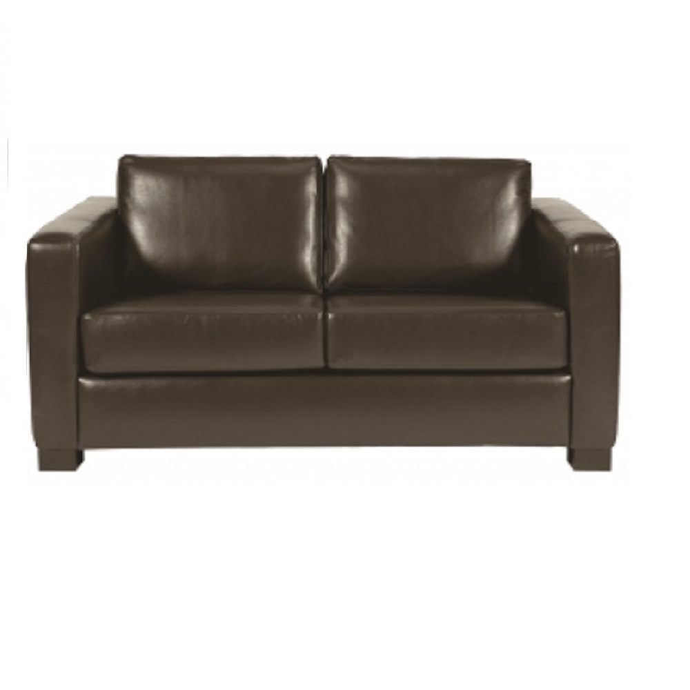 SHERWOOD TWO SEATER DARK BROWN