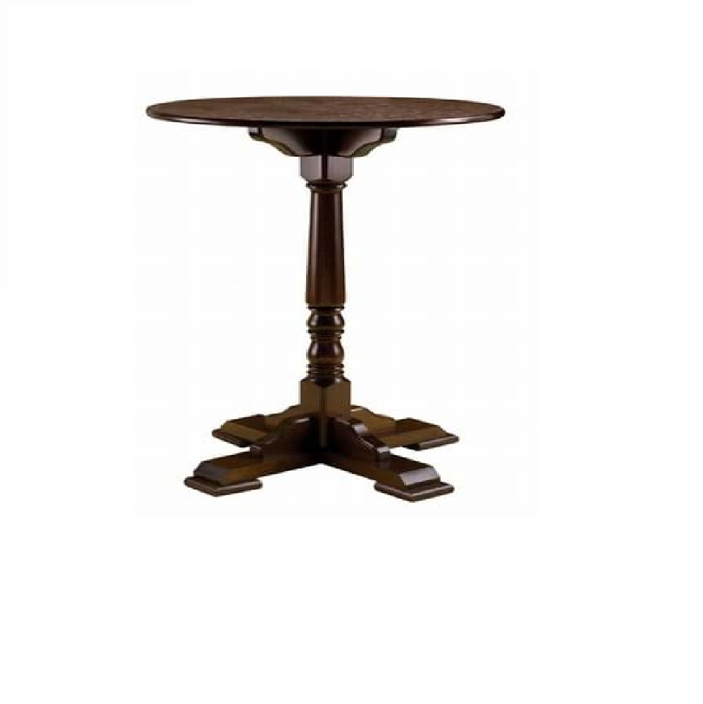 PUB FURNITURE SINGLE WOODEN POSEUR TABLE