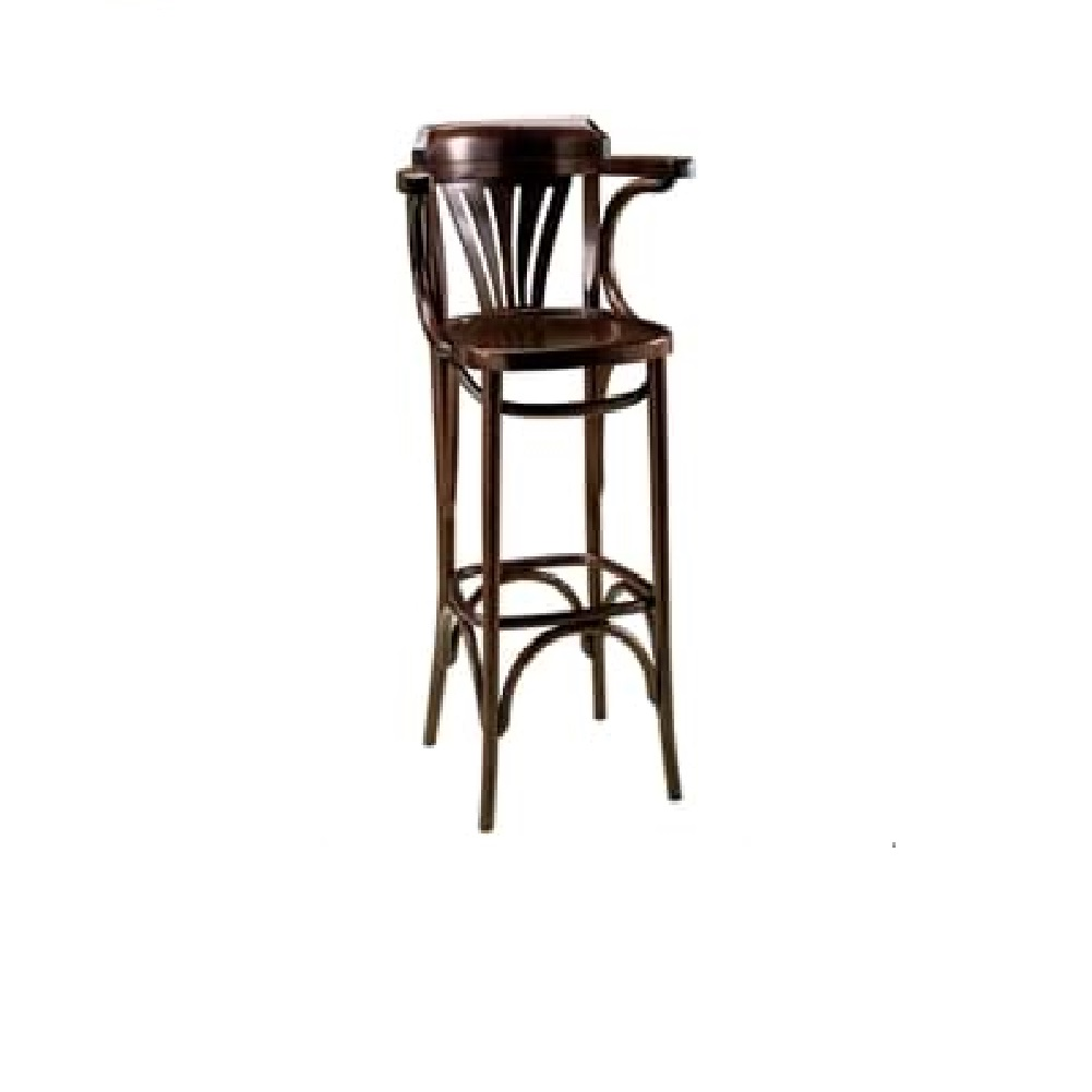 PUB FURNITURE TALL FANBACK ARMCHAIR