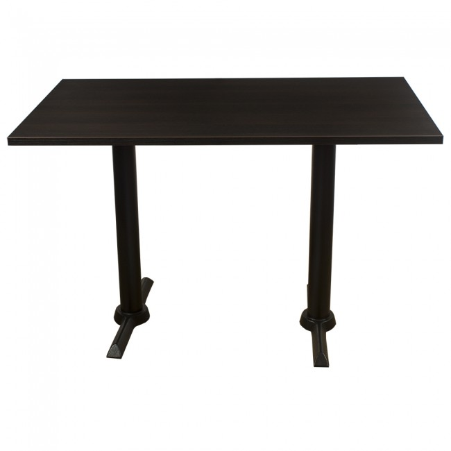 3405 - WENGE 1200 X 700 COMPLETE FOUR SEATER TABLE