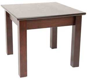 3300 SHAKER DINING TABLE 600 X 1200 67CM HEIGHT