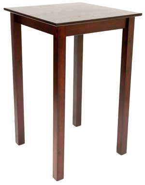 3302 SHAKER POSEUR TABLE 700 X 1200 110CM HEIGHT
